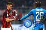 GFX Milan Napoli 2019