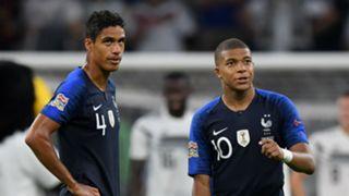 Varane Mbappe France
