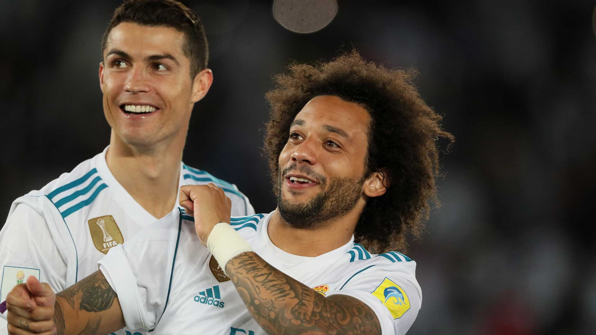 2017-12-23-Real Madrid-Marcelo-Cristiano Ronaldo