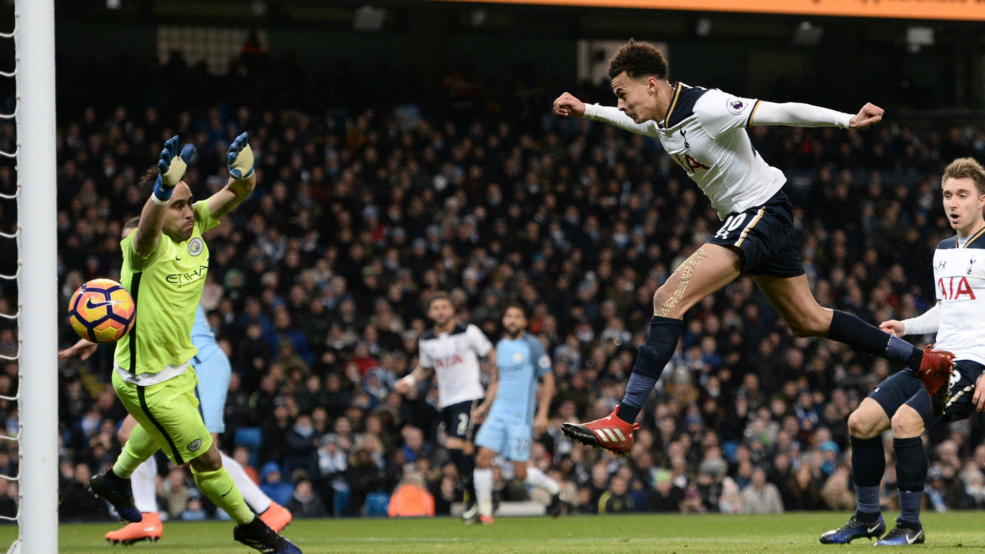 Dele Alli Premier League Manchester City v Tottenham 210117