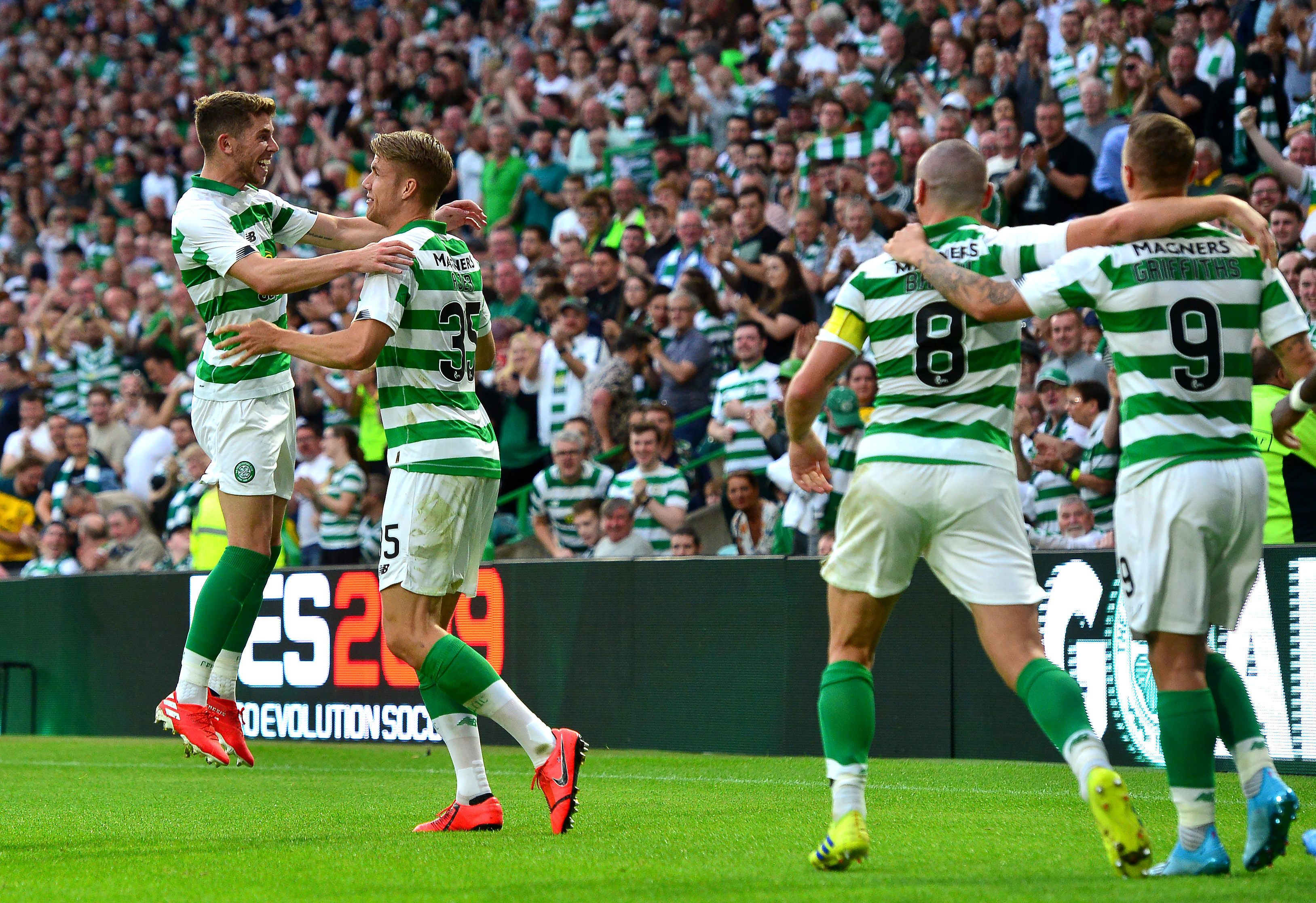 Celtic Nomme Kalju UEFA Champions League 07/24/19
