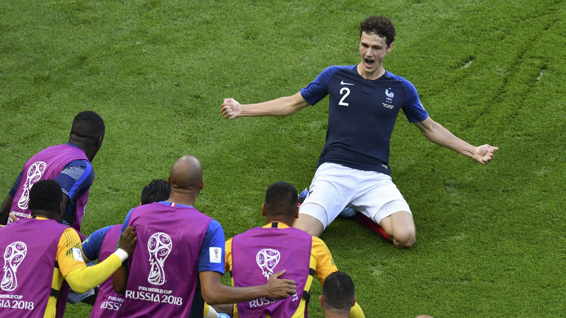 Image result for Pavard  2018