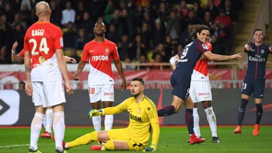 Edinson Cavani Monaco PSG Ligue 1 26112017