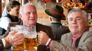 Carlo Ancelotto Bayern Munich Oktoberfest 2017