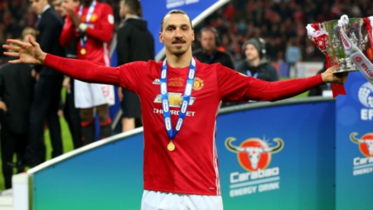 Ibrahimovic Manchester United EFL Cup win