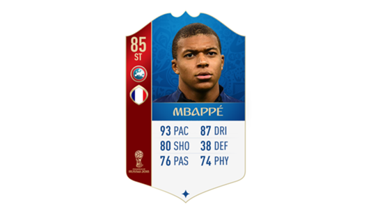 FIFA 18 World Cup France Mbappe