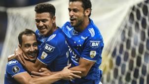 Rodriguinho Marquinhos Gabriel Fred Cruzeiro Deportivo Lara Libertadores 27 03 2019
