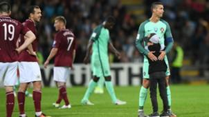 Ronaldo Latvia Portugal