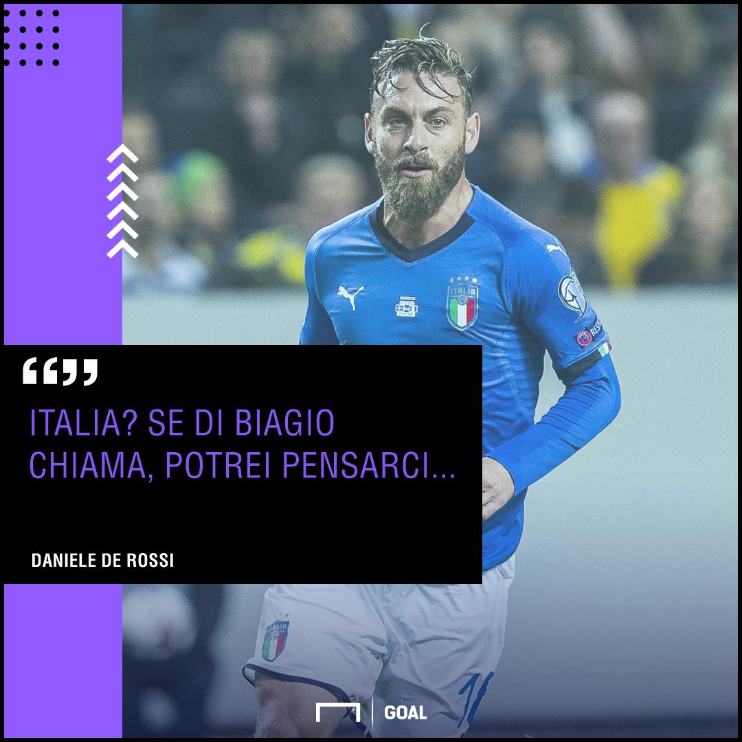 PS De Rossi Nazionale