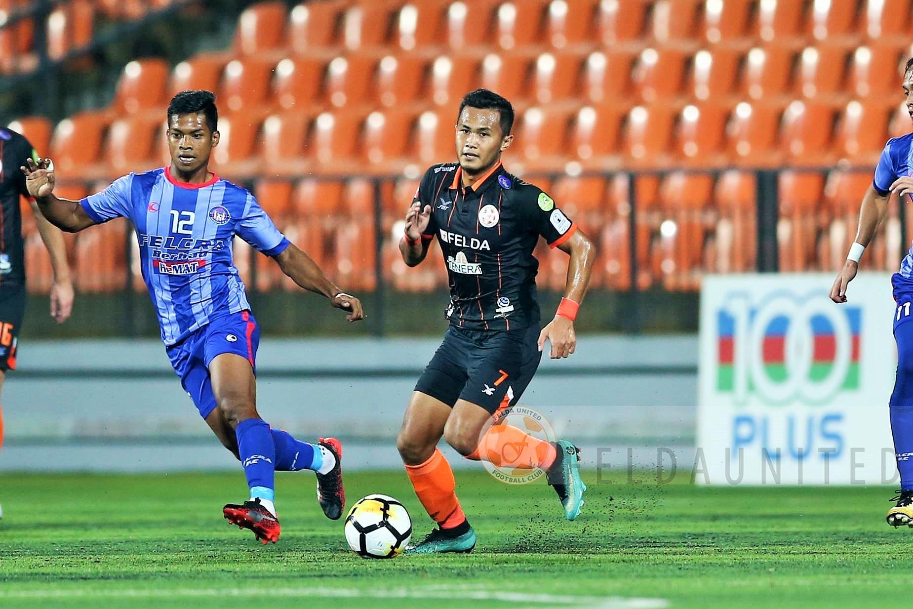 Azim Rahim, Felcra FC, Wan Zack Haikal, Felda United, Malaysia Premier League, 23042018
