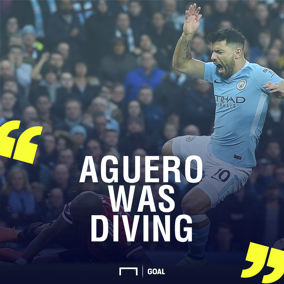 Aguero was diving GFX