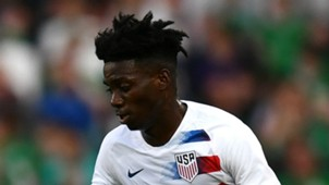 Timothy Weah USA 2018