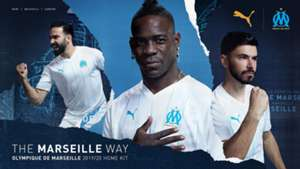 Marseille home kit 2019-20