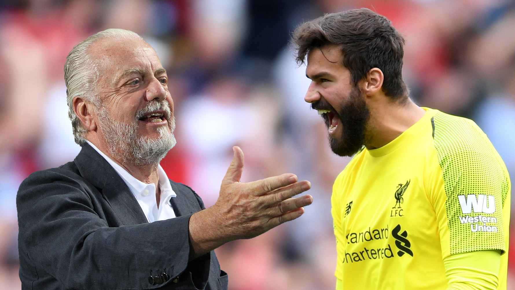 Napoli President Makes Astonishing Ownership Claims About Liverpool And Roma