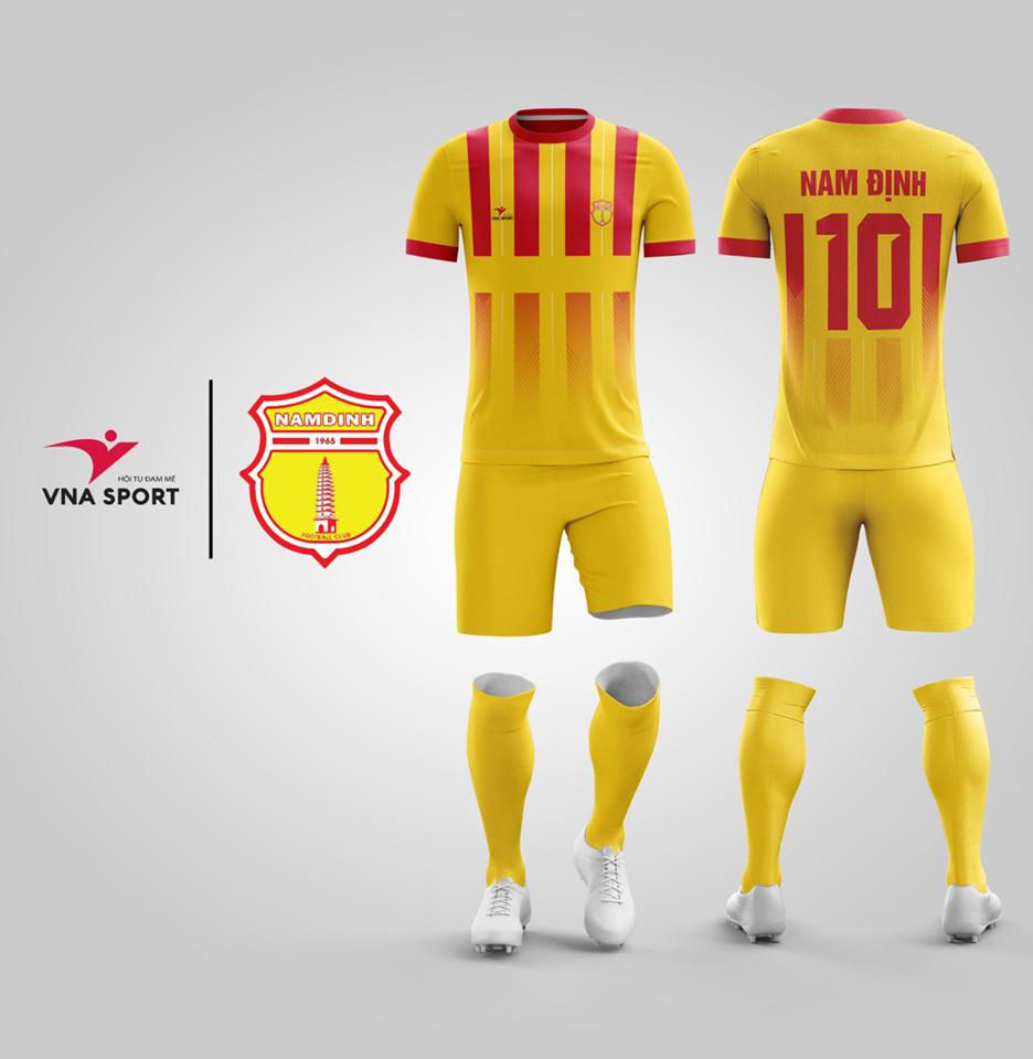 Áo đấu Nam Định 2018-1