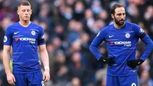 Gonzalo Higuain Ross Barkley Chelsea