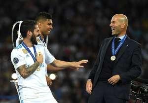 Isco & Casemiro & Zinedine Zidane