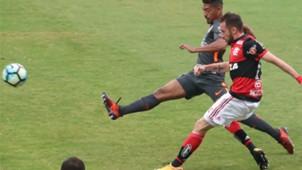 Everton Ribeiro Flamengo x Corinthians Ninho do urubu Brasileirão 19 11 17
