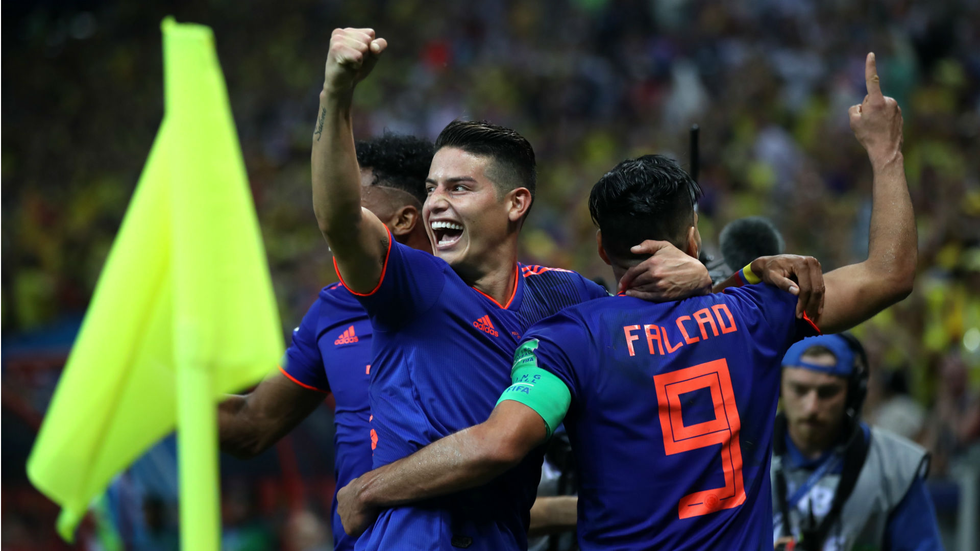 Radamel Falcao James Rodriguez Colombia World Cup 2018