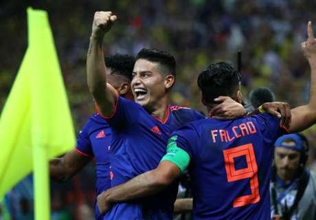 James & Quintero dazzle for wonderful Colombia