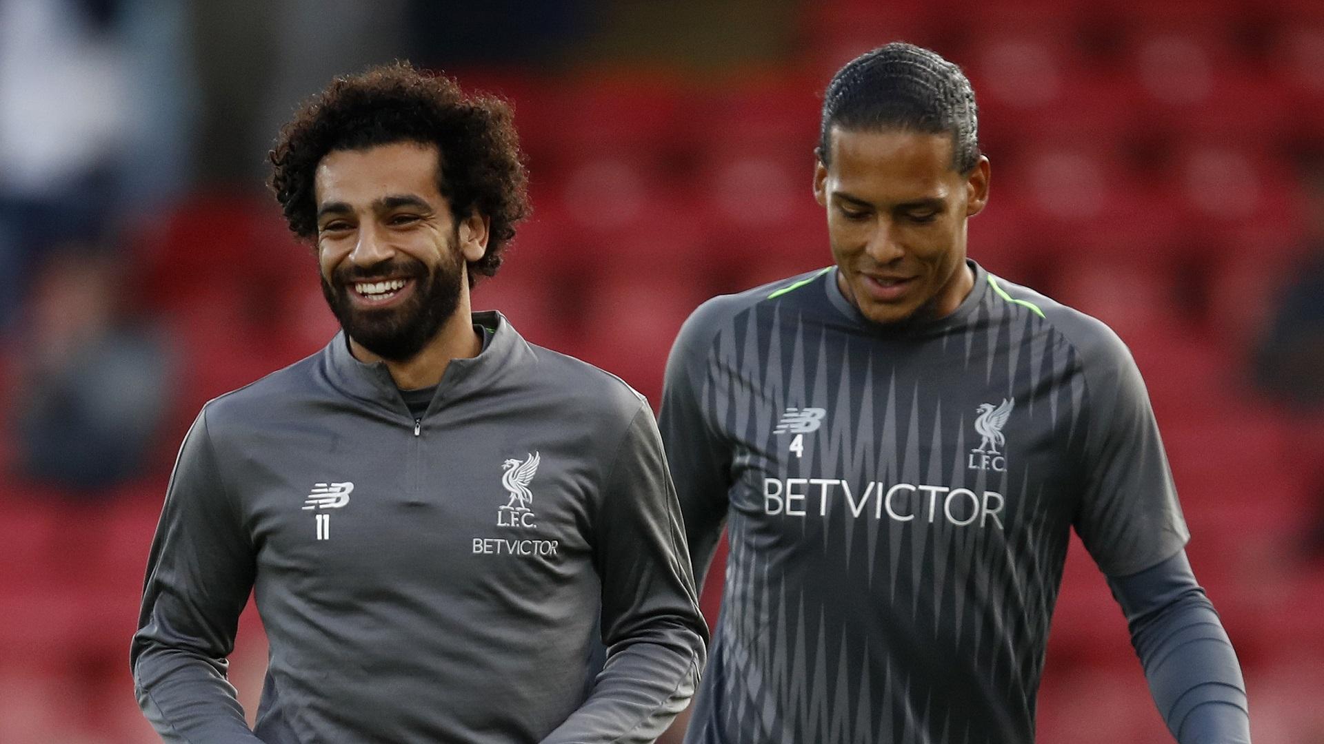 Mohamed Salah Virgil van Dijk Liverpool 20082018