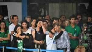 Chapecoense fans