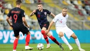 croatia england - ante rebic eric dier - nations league - 12102018