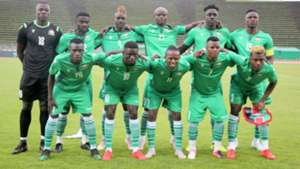 Harambee Stars squad in France.