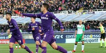 Giovanni Simeone Fiorentina Sassuolo Serie A
