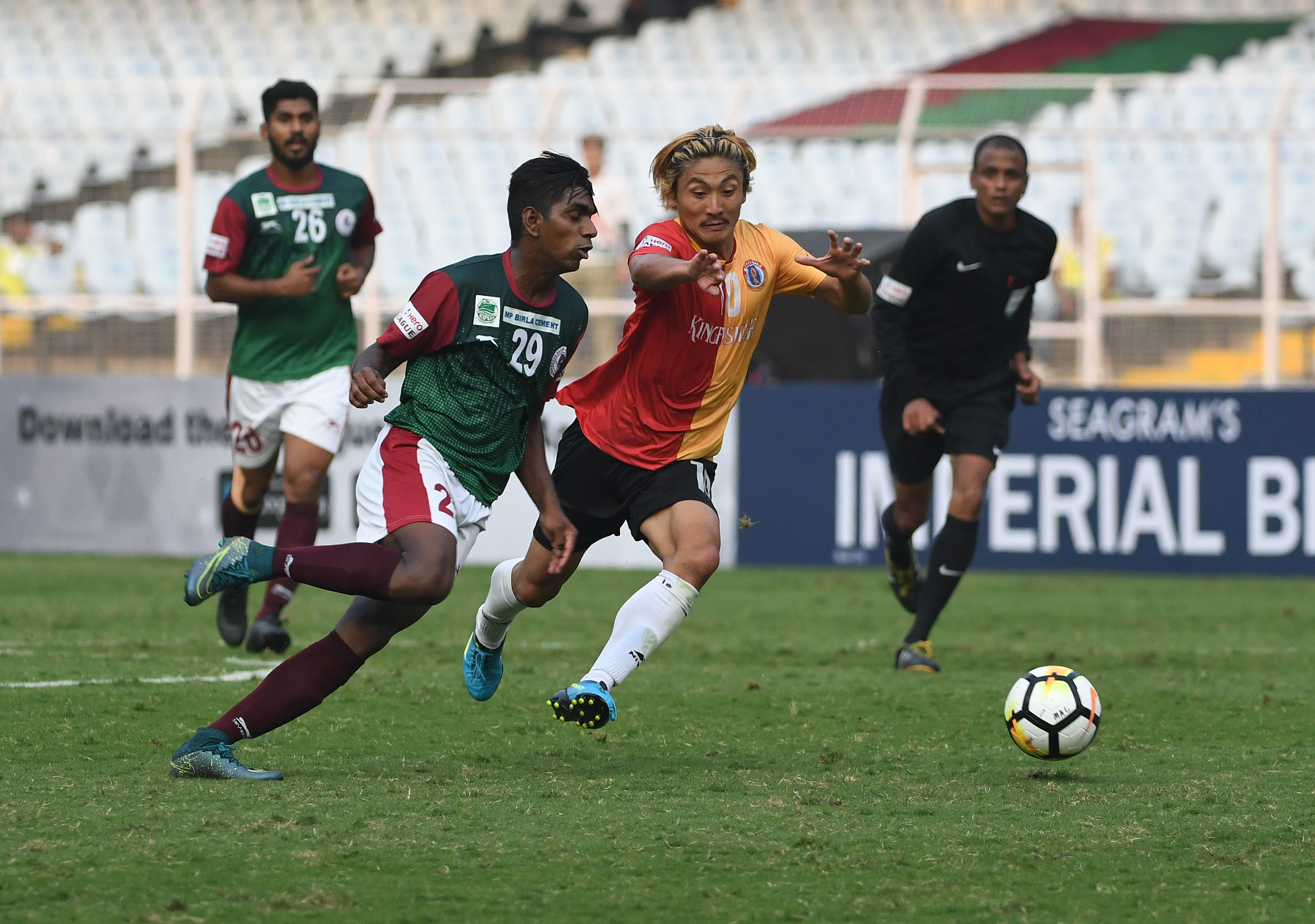 Mohun Bagan East Bengal I-League 2017 Kolkata Derby
