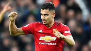Andreas Pereira Manchester United 2018-19