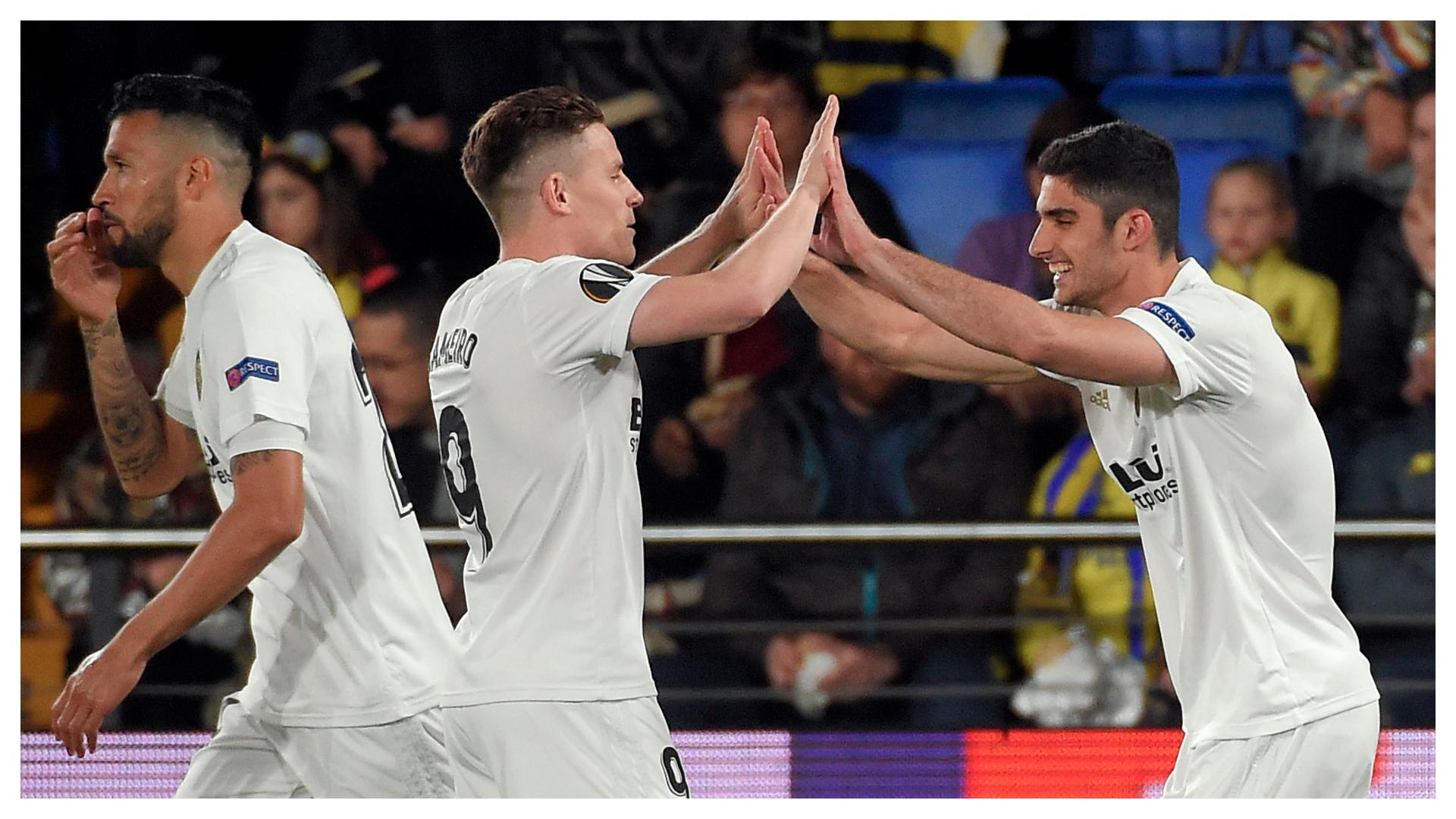 Guedes Gameiro Villarreal Valencia Europa League