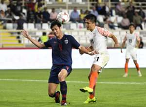 India vs Thailand Sunil Chhetri