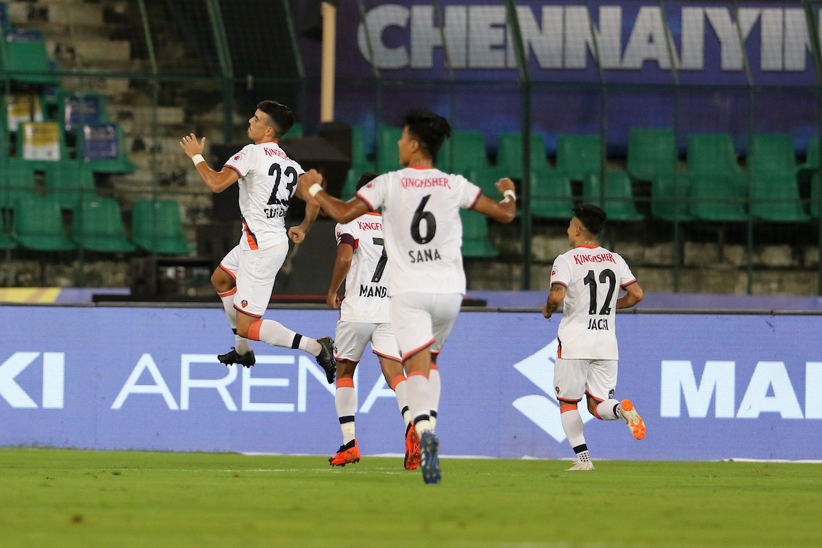 Chennaiyin FC Goa ISL