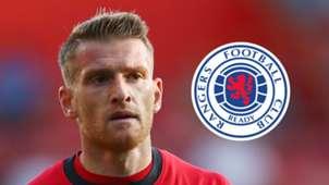 Steven Davis, Rangers logo