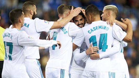Real Madrid LaLiga Malaga 0418