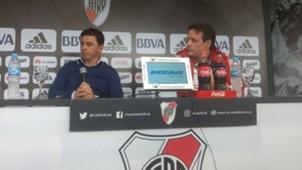 Marcelo Gallardo Pedro Hansing River Plate
