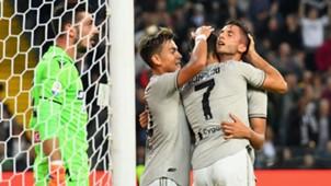 Paulo Dybala Rodrigo Bentancur Cristiano Ronaldo Udinese Juventus