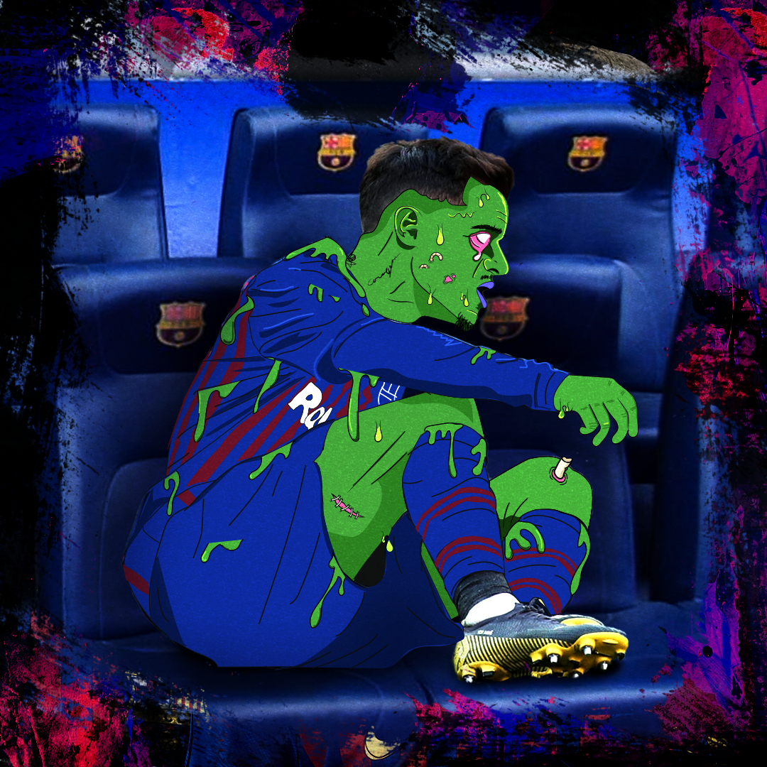 Philippe Coutinho Barcelona GFX