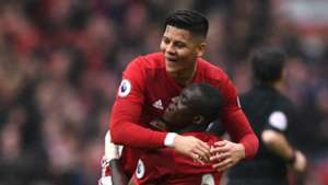Marcos Rojo & Eric Bailly