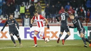 Aleksandar Pesic Bibras Natcho Alan Dzagoev CSKA Moscow Crvena Zvezda Europa League