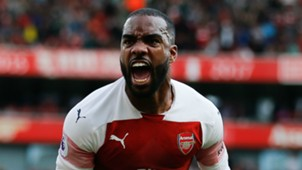 Alexandre Lacazette Arsenal 2018-19