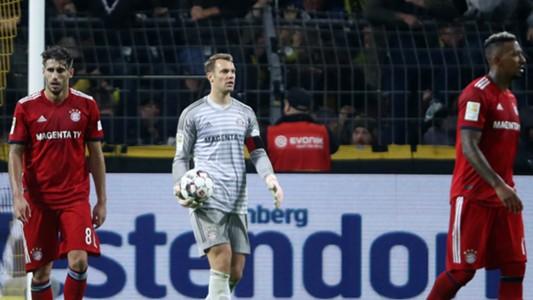 Manuel Neuer Jerome Boateng Javi Martinez FC Bayern Borussia Dortmund 10112018
