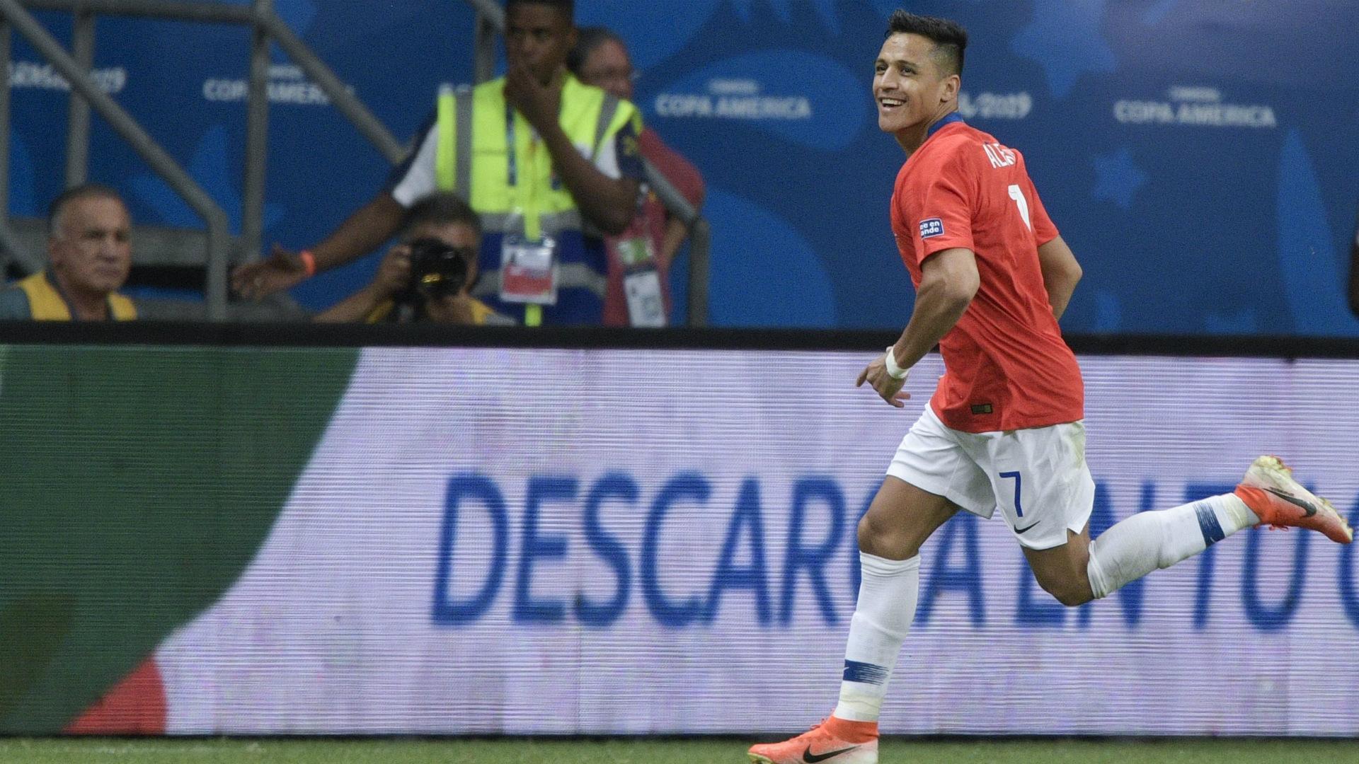 Alexis Sanchez 2 Chile Ecuador Copa America 21062019