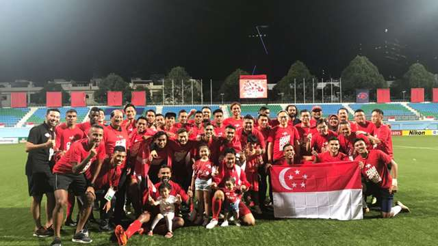 Home United provide Singapore with an early birthday gift by