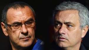Maurizio Sarri, Jose Mourinho