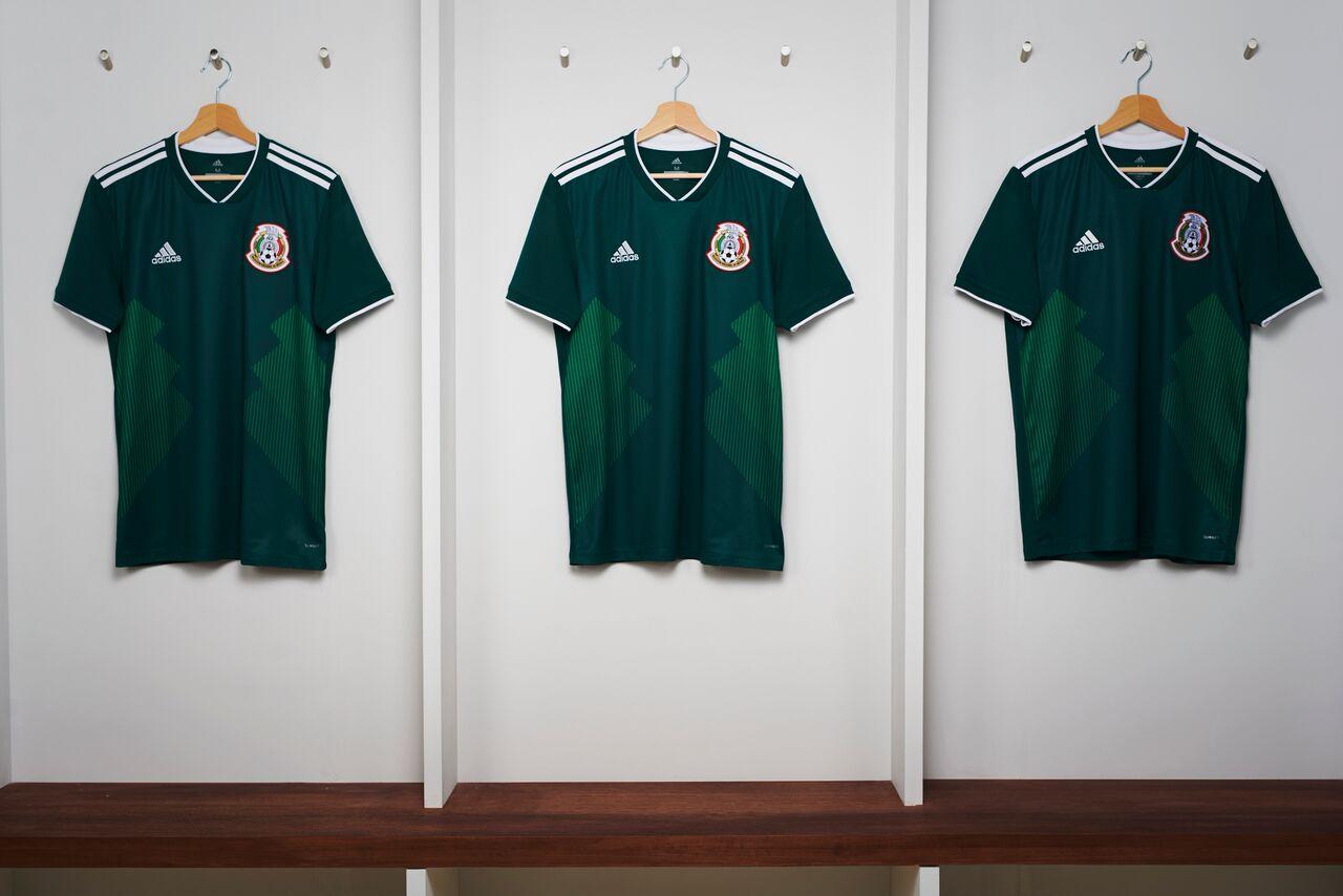 camiseta México Rusia 2018