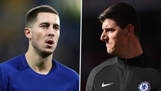 Will Hazard and Courtois leave if Chelsea miss out on Champions League place?