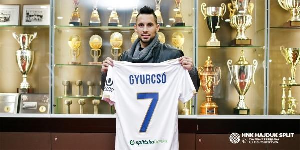 Gyurcsó Ádám Hajduk Split