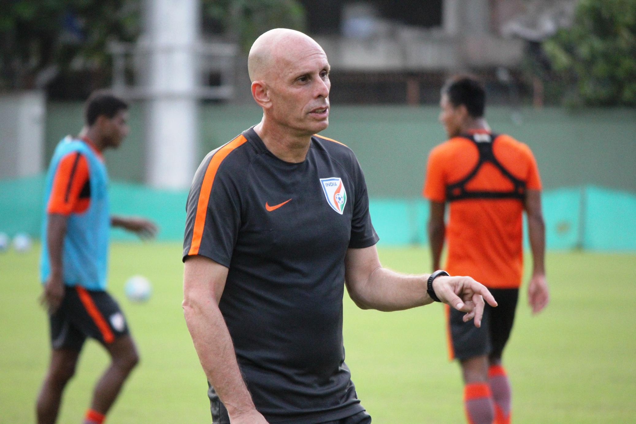 Stephen Constantine India head coach 2017